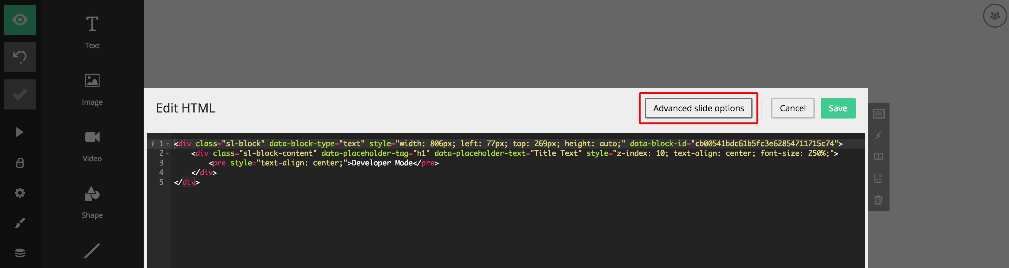 developers slides